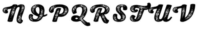 Nexa Rust Script H 4 Font UPPERCASE