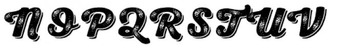 Nexa Rust Script H Shadow 3 Font UPPERCASE