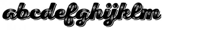 Nexa Rust Script H Shadow 3 Font LOWERCASE