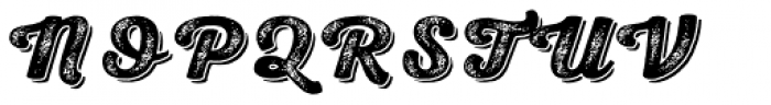 Nexa Rust Script H Shadow 4 Font UPPERCASE