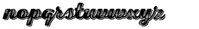Nexa Rust Script H Shadow 4 Font LOWERCASE
