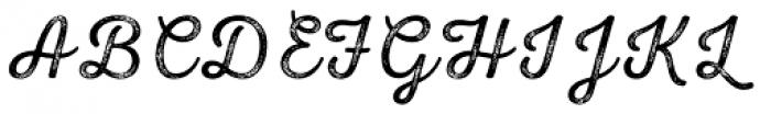 Nexa Rust Script L 4 Font UPPERCASE