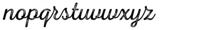 Nexa Rust Script L 4 Font LOWERCASE