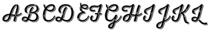 Nexa Rust Script L Shadow 2 Font UPPERCASE