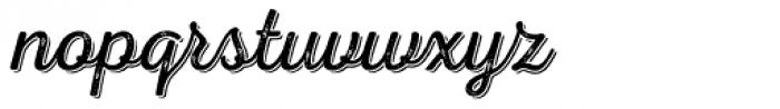 Nexa Rust Script L Shadow 2 Font LOWERCASE