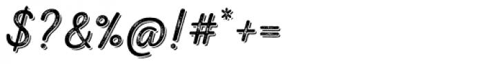 Nexa Rust Script L Shadow 3 Font OTHER CHARS