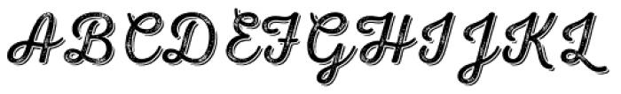 Nexa Rust Script L Shadow 3 Font UPPERCASE