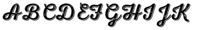 Nexa Rust Script R Shadow 2 Font UPPERCASE