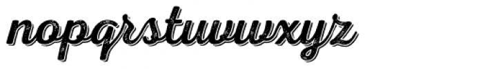 Nexa Rust Script R Shadow 2 Font LOWERCASE