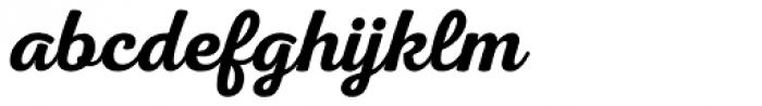 Nexa Rust Script S 1 Font LOWERCASE