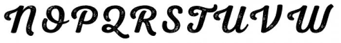 Nexa Rust Script S 2 Font UPPERCASE