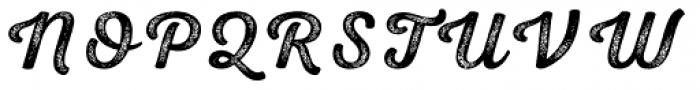 Nexa Rust Script S 4 Font UPPERCASE
