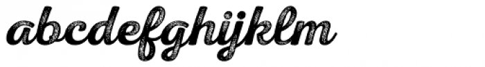 Nexa Rust Script S 4 Font LOWERCASE