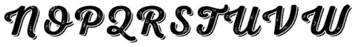 Nexa Rust Script S Shadow 2 Font UPPERCASE