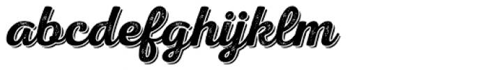 Nexa Rust Script S Shadow 2 Font LOWERCASE