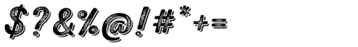 Nexa Rust Script S Shadow 4 Font OTHER CHARS