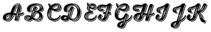 Nexa Rust Script S Shadow 4 Font UPPERCASE