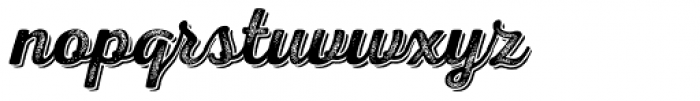 Nexa Rust Script S Shadow 4 Font LOWERCASE