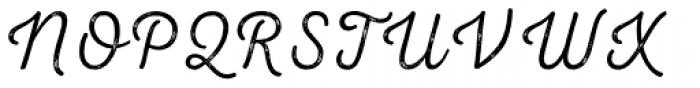 Nexa Rust Script T 2 Font UPPERCASE