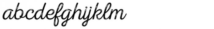 Nexa Rust Script T 3 Font LOWERCASE