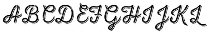 Nexa Rust Script T Shadow 2 Font UPPERCASE