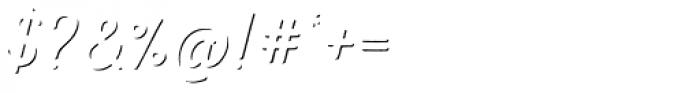 Nexa Rust Script T Shadow Font OTHER CHARS