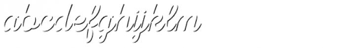 Nexa Rust Script T Shadow Font LOWERCASE