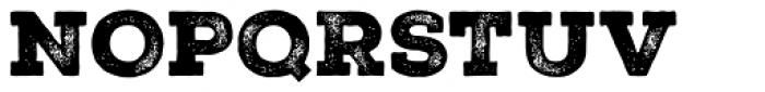 Nexa Rust Slab Black 2 Font UPPERCASE