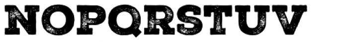 Nexa Rust Slab Black 2 Font LOWERCASE