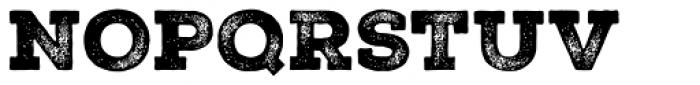 Nexa Rust Slab Black 3 Font UPPERCASE