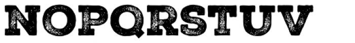 Nexa Rust Slab Black 3 Font LOWERCASE