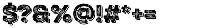 Nexa Rust Slab Black Shadow 3 Font OTHER CHARS