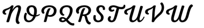 Nexa Script Font UPPERCASE