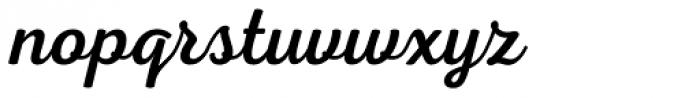 Nexa Script Font LOWERCASE