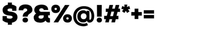 Nexa Slab Black Font OTHER CHARS