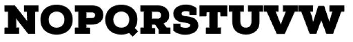 Nexa Slab Black Font UPPERCASE