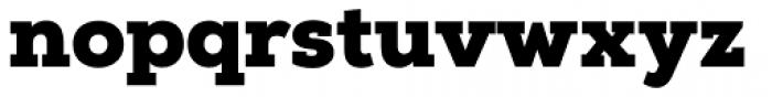 Nexa Slab Black Font LOWERCASE