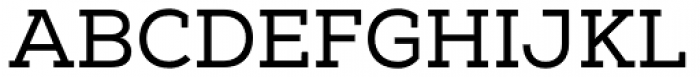 Nexa Slab Font UPPERCASE