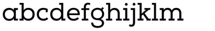 Nexa Slab Font LOWERCASE