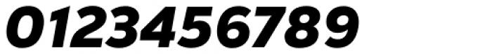 Nexa Text Black Italic Font OTHER CHARS
