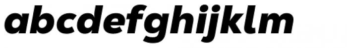 Nexa Text Black Italic Font LOWERCASE