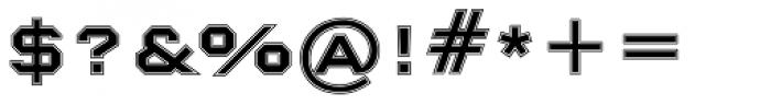 Nexstar Bold B Font OTHER CHARS