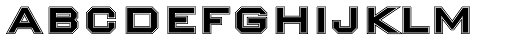 Nexstar Bold B Font LOWERCASE