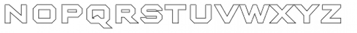 Nexstar Bold C Font LOWERCASE