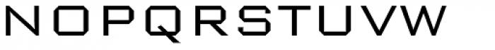 Nexstar Light A Font UPPERCASE