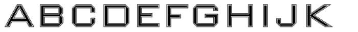 Nexstar Light B Font UPPERCASE