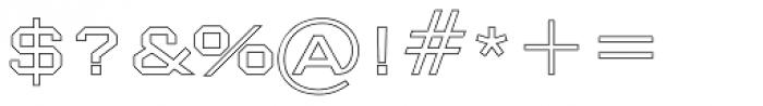Nexstar Light C Font OTHER CHARS
