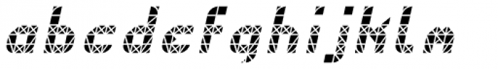 Next Stop Light Oblique Font LOWERCASE
