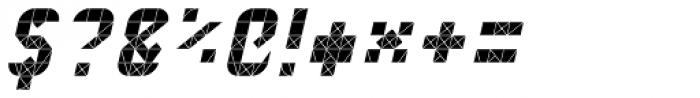 Next Stop Oblique Font OTHER CHARS