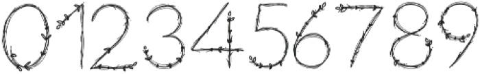 NF-Aralia otf (400) Font OTHER CHARS